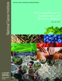 NCI's Annual Report on Complementary and  Alternative Medicine