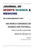 JOURNAL OF  SPORTS SCIENCE &  MEDICINE