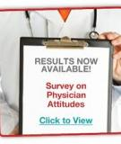Physician Attitudes in Medicine: Survey results