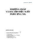 Phương pháp và bài tập hiệu suất phản ứng NH3
