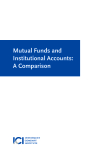Mutual Funds and Institutional Accounts: A Comparison