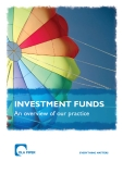 INVESTMENT FUNDS: An overview of our practice