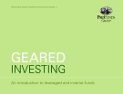 Geared Investing: An Introduction To Leveraged And Inverse Funds