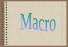 Tài liệu thiết kế Macro trong access
