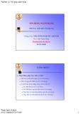 TÍN DỤNG NGÂN HÀNG (TS Phạm Quốc Khánh) - PHẦN 6 RỦI RO TÍN DỤNG