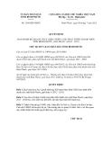 Quyết định số 1368/QĐ-UBND