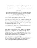 Quyết định số 1462/QĐ-UBND