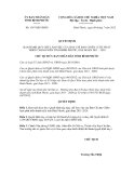 Quyết định số 1367/QĐ-UBND