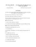 Quyết định số 30/2012/QĐ-TTg
