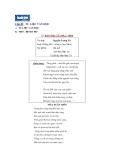 Chủ đề: TƯ LIỆU VĂN HỌC - THƠ