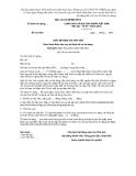 MẪU  GIẤY ĐỀ NGHỊ TÁI CẤP VỐN Dưới hình thức cho vay lại theo hồ sơ tín dụng