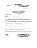 MẪU  GIẤY ĐỀ NGHỊ GIA HẠN TÁI CẤP VỐN Dưới hình thức cho vay lại theo hồ sơ tín dụng