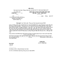 Mẫu đề nghị xét hưởng chế độ trợ cấp theo Quyết định số 62/2011/QĐ-TTg