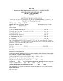 MẪU   BIÊN BẢN HỌP HỘI ĐỒNG CHÍNH SÁCH XÃ Xét duyệt, đề nghị hưởng chế độ theo Quyết định số 62/2011/QĐ-TTg ngày 09 tháng 11 năm 2011 của Thủ tướng Chính phủ Hôm nay, ngày tháng năm 20 huyện