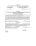 MẪU QUYẾT ĐỊNH Về việc hưởng chế độ trợ cấp một lần theo Quyết định số 62/2011/QĐ-TTg ngày 09 tháng 11 năm 2011 của Thủ tướng Chính phủ