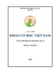Giáo trình khảo cổ học Việt Nam - Trần Văn Bảo