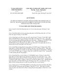 Quyết định số  2265/2012/QĐ-UBND