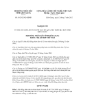 Nghị quyết số 63/2012/NQ-HĐND