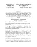 Nghị quyết số 52/2012/NQ-HĐND