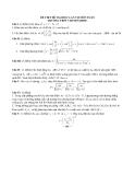 Đề thi thử đại học lần VII môn toán trường THPT chuyên ĐHSP
