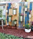 Khu vườn treo mini dành cho nhà có sân nhỏ
