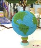 Ngày Trái đất trổ tài làm bác Địa cầu vui tính
