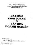 Ebook Đạo đức kinh doanh và văn hóa doanh nghiệp - Luật gia Phạm Quốc Toản