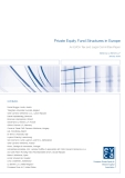 Private Equity Fund Structures In Europe
