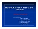 Đề tài: Tìm hiểu về Rational Rose và cách tính năng khác