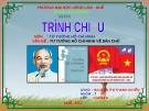 Đề tài: TƯ TƯỞNG HỒ CHÍ MINH VỀ DÂN CHỦ