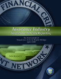 Insurance Industry Suspicious Activity Reporting