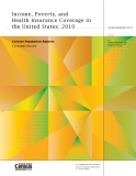 Income, Poverty, and Health Insurance Coverage in the United States: 2010