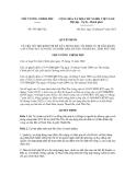 Quyết định số 953/QĐ-TTg
