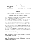 Quyết định số 105/QĐ-HQTTH