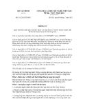 Thông tư số 111/2012/TT-BTC