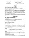 Thông tư số 11/2012/TT-BTTTT