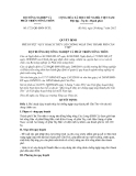 Quyết định số 1721/QĐ-BNN-TCTL