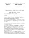 Quyết định số 1216/QĐ-UBND