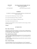 Nghị định số 57/2012/NĐ-CP
