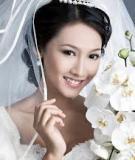 Cô dâu đẹp tinh khôi với bí quyết trang điểm tự nhiên