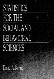 Statistics for Social and Behavioral Sciences - David A.Kenny