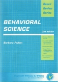Board Review SeriesBehavioral Science 3rd edition