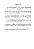 Luận văn: Phân tích mối quan hệ giữa biến động dân số và tăng trưởng kinh tế thành phố Hà Nội giai đoạn 1999- 2009
