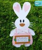 """""""Trợ lý"""" thỏ con dễ thương nhắc việc mỗi ngày"""