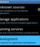 Hướng dẫn cài đặt ứng dụng Android lên thẻ SD