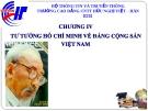 Chương 4. Tư tưởng HCM về Đảng Cộng Sản Việt Nam