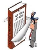 Đề tham khảo có đáp án Luật lao động Việt Nam