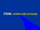 HƯỚNG DẪN SỬ DỤNG PSIM