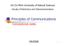 Principles of Communications Convolutional codes