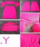 Cẩm nang tái chế áo phông cũ thành đồ mới (P1)